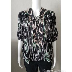 ISABEL MARANT soie silk blouse